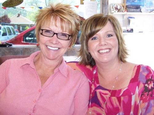 1 me and mom